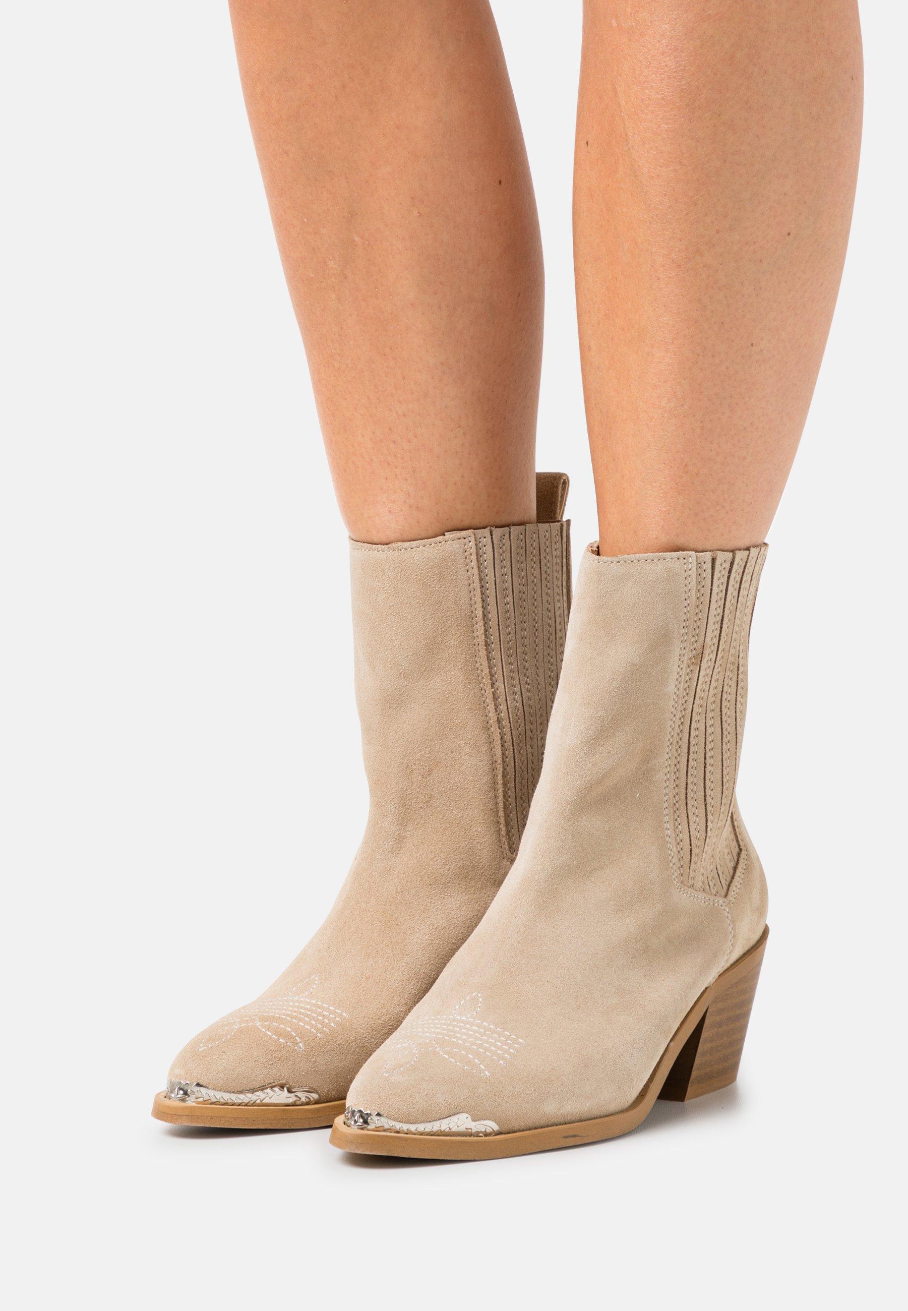 Women YASLATTE BOOTS - Cowboy/biker ankle boot