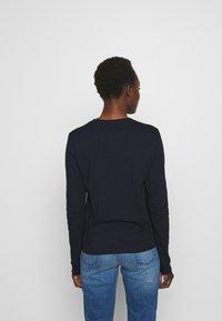 CLOSED - Long sleeved top - dark night - 2