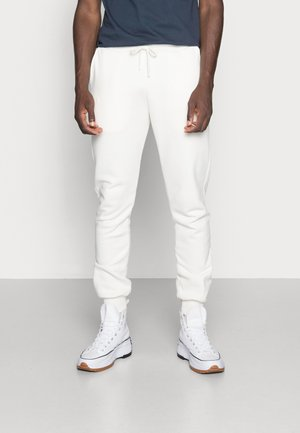 ESSENTIAL SLIM FIT JOGGERS - Tracksuit bottoms - off white