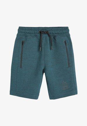 Shorts - mottled blue