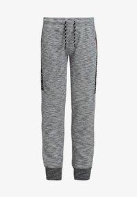 WE Fashion - JONGENS MET TAPEDETAIL - Tracksuit bottoms - blended light grey - 2