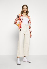 ONLY - ONLALMA LIFE - Button-down blouse - cloud dancer/marble - 1