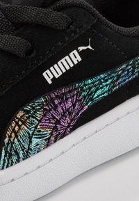 Puma - VIKKY - Trainers - black/silver/white - 2