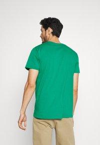 Esprit - LOGO - Print T-shirt - bottle green - 2