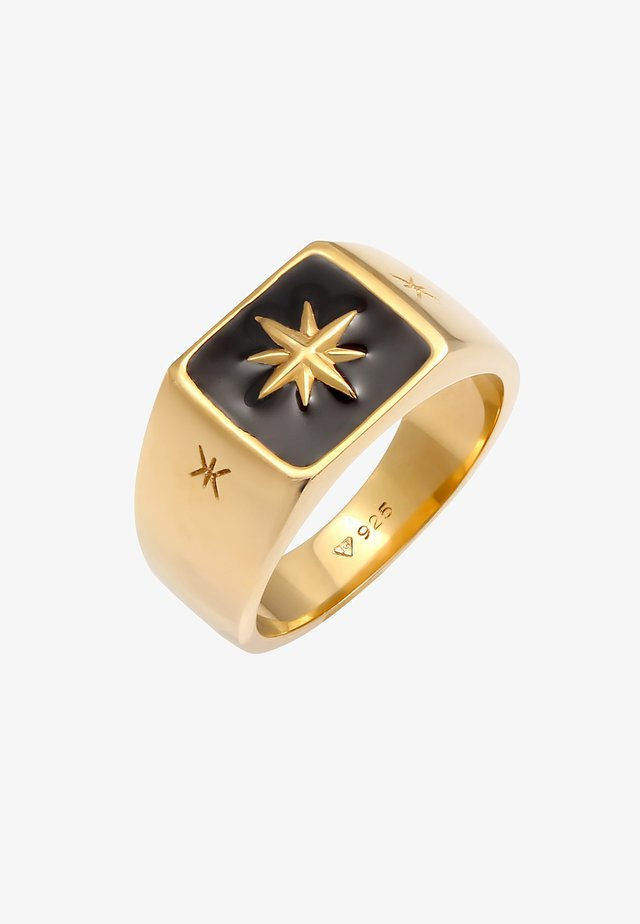 COMPASS LOOK CHUNKY - Bague - gold