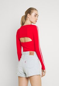 adidas Originals - ORIGINALS ADICOLOR BODYWEAR SUIT FITTED - Long sleeved top - red - 2