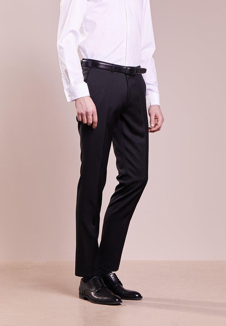 HUGO - HENFORD - Suit trousers - black