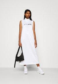 Nike Sportswear - DRESS - Maxi dress - white/white/black - 1