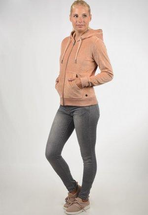 NICKY - Zip-up hoodie - light pink