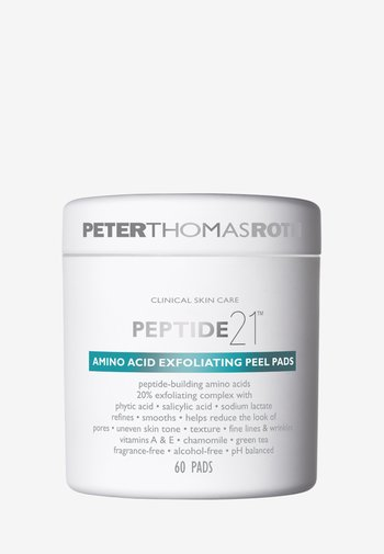 PEPTIDE 21 AMINO ACID EXFOLIATING PEEL PADS - Cleanser - -