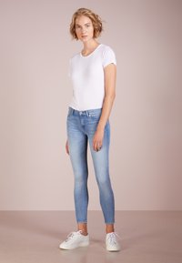 7 for all mankind - CROP - Jeans Skinny Fit - bair mirage - 1