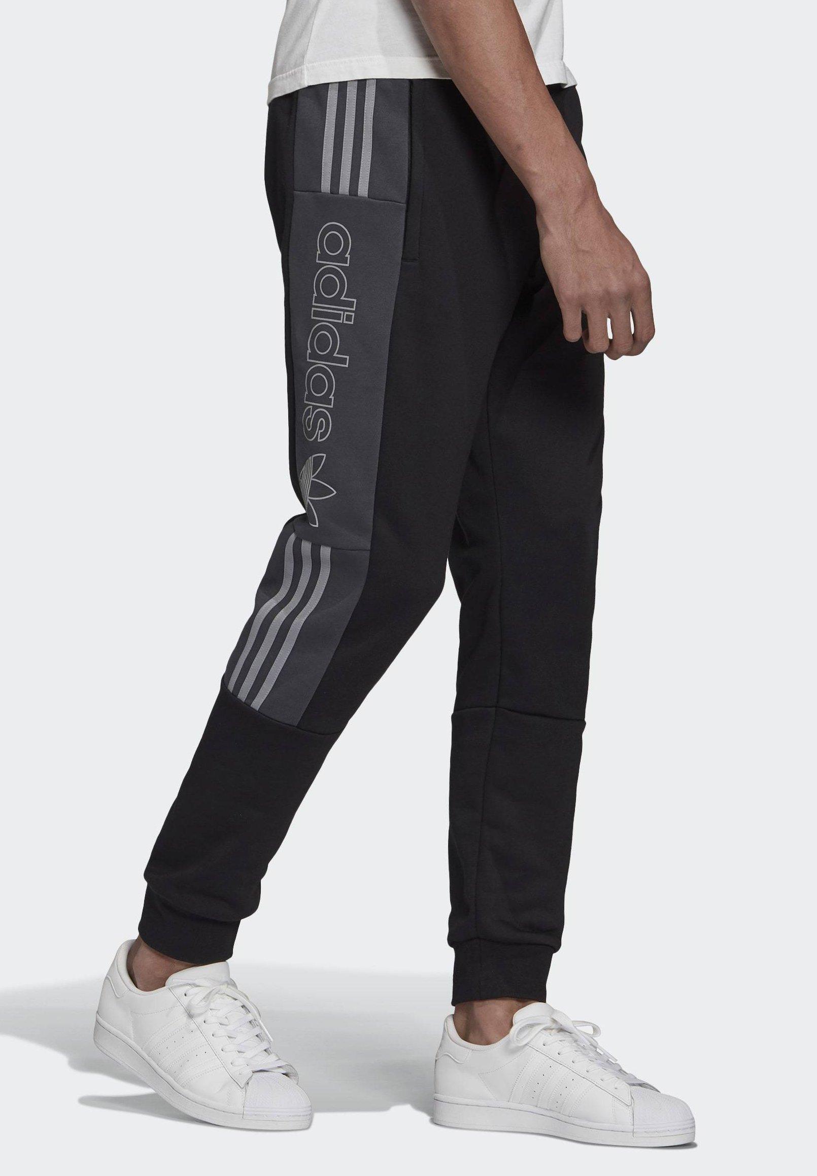adidas Originals BX-20 SWEAT JOGGERS - Tracksuit bottoms - black o0Zz7
