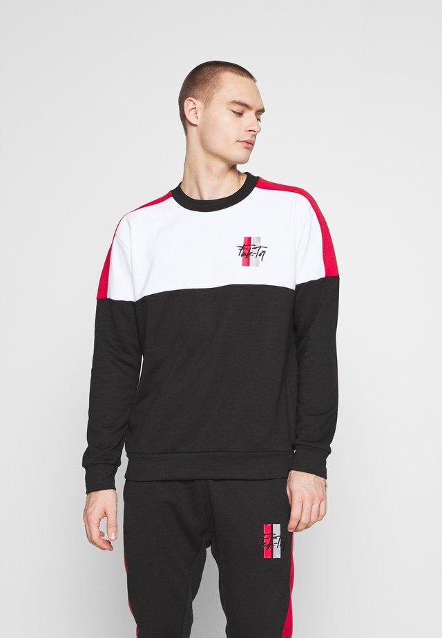MALLOR CREW - Sweatshirt - black