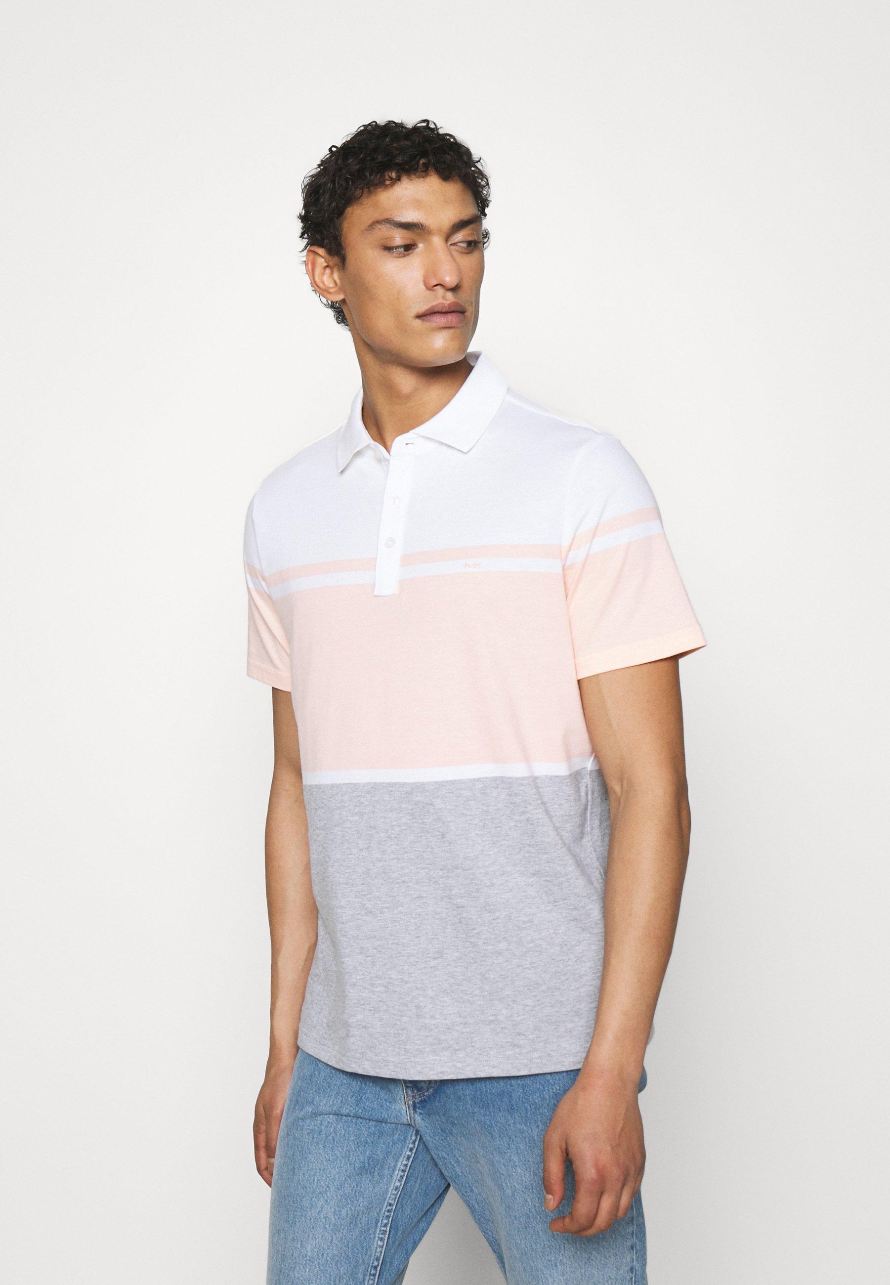 Men COLORBLOCK STRIPE - Polo shirt