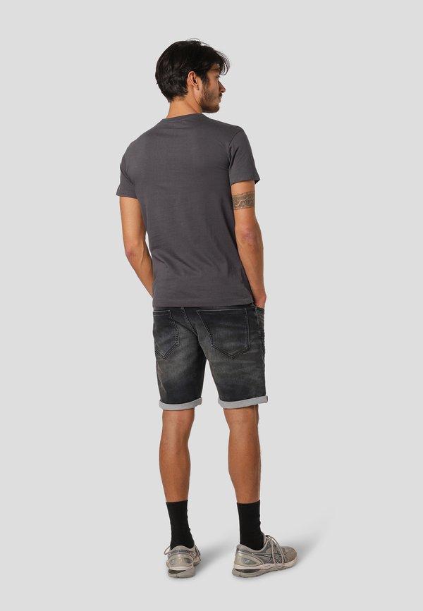MARCUS LEYLAND - T-shirt z nadrukiem - iron grey/jasnoszary Odzież Męska AJHE