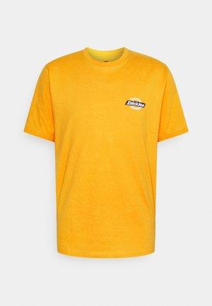 RUSTON TEE - T-shirt imprimé - cadnium yellow