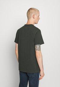 G-Star - PREMIUM CORE R T S\S - T-shirt basic - olive - 2