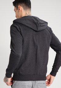 Blend - REGULAR FIT - Zip-up hoodie - charcoal - 2