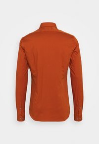 Calvin Klein Tailored - LOGO STRETCH EXTRA SLIM - Formal shirt - brown - 1