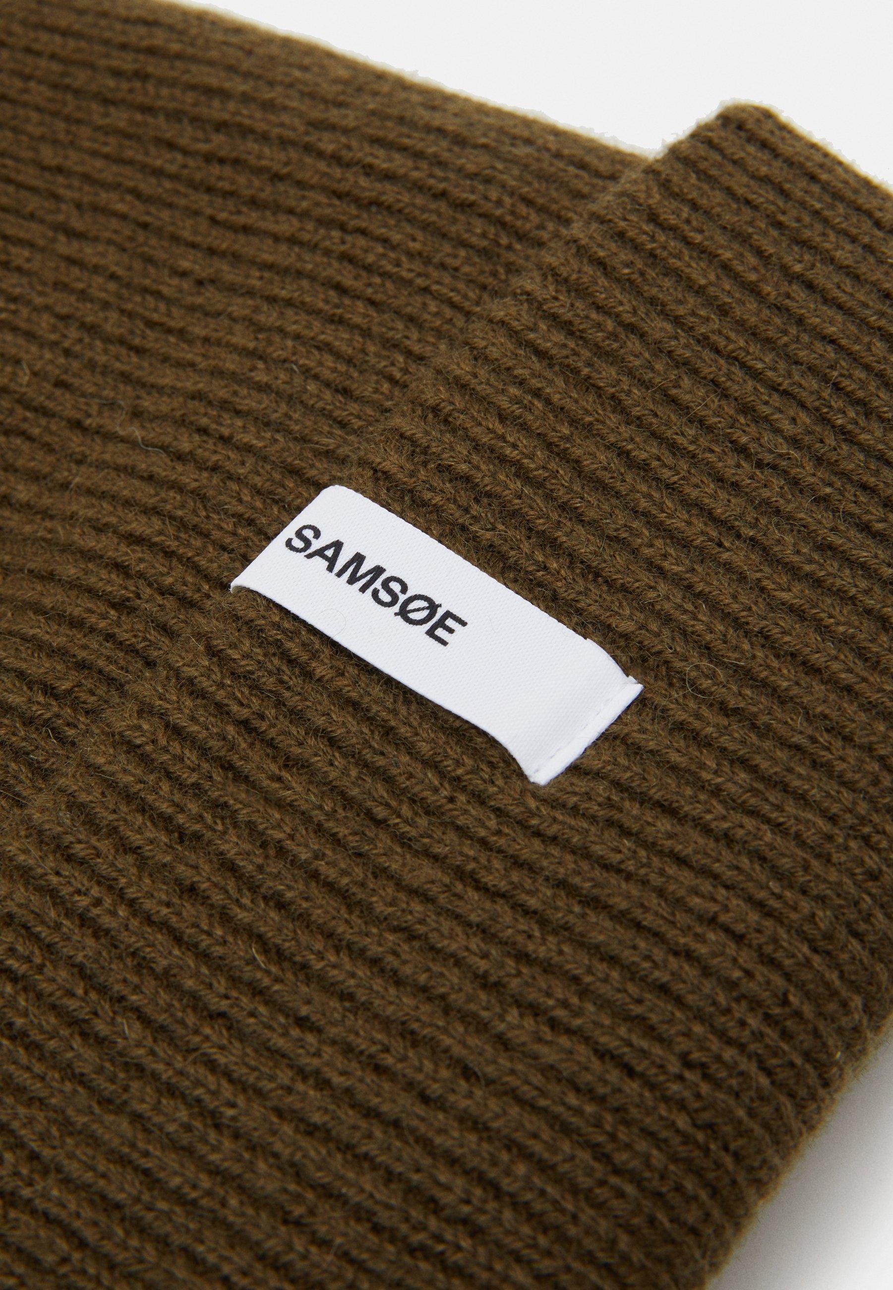 Samsøe Samsøe THE BEANIE  - Mütze - dark olive/khaki - Herrenaccessoires IDVMz