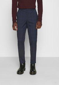 Selected Homme - MYLOLOGAN SUIT - Suit - navy blazer/brown - 4