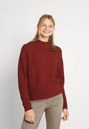 LINEAH - Jumper - metallic red