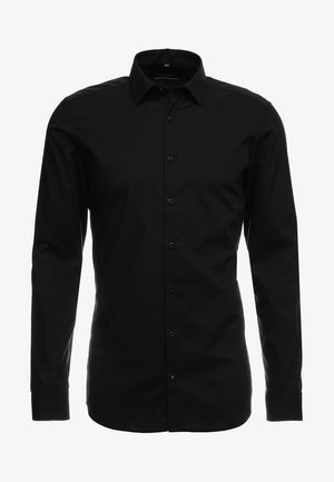 SUPER SLIM KENT - Overhemd - black