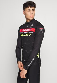 ODLO - STAND UP COLLAR FULL ZIP SCOTT SRAM - Sports shirt - black - 0