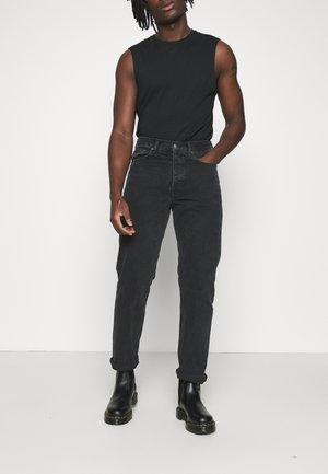 DASH - Jeans a sigaretta - night black