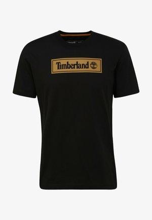 LINEAR LOGO  - Print T-shirt - black