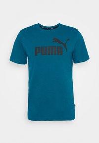 LOGO TEE - Print T-shirt - blue