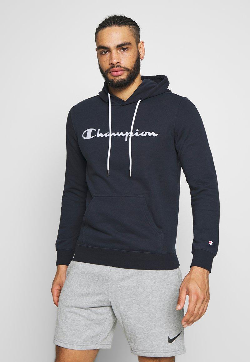 Champion - HOODED - Felpa con cappuccio - dark blue