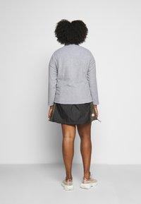 CAPSULE by Simply Be - Fleece jacket - grey marl - 2
