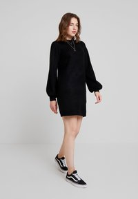 Object - OBJEVE NONSIA - Strikket kjole - black - 2