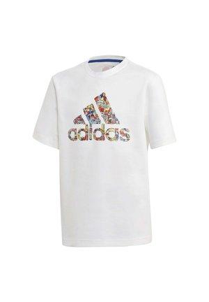 2020-06-06  - Print T-shirt - white