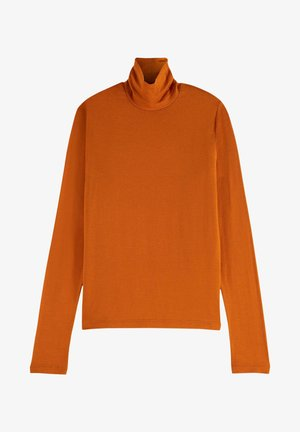 Long sleeved top - copper