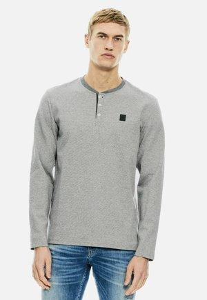Long sleeved top - grey melee