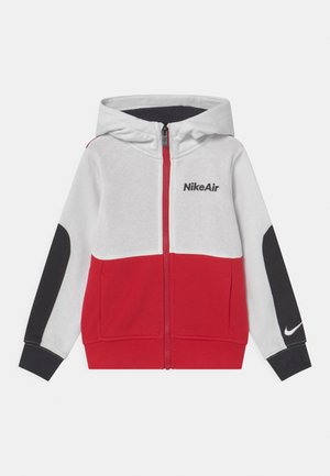 AIR - Mikina na zip - white