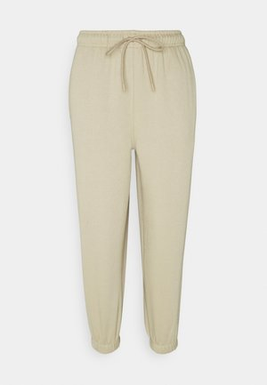 HARLEY - Tracksuit bottoms - stone