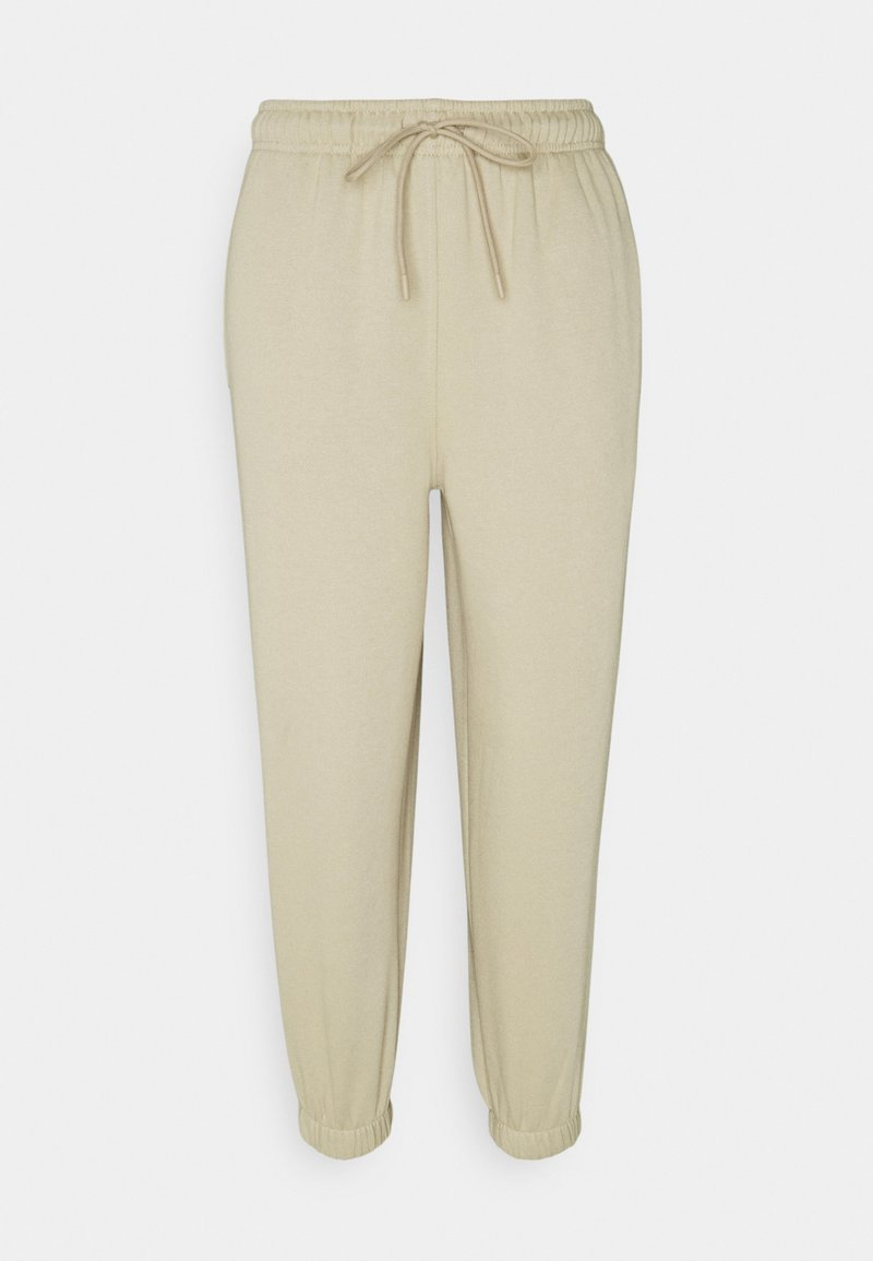 Topshop Petite - HARLEY - Tracksuit bottoms - stone