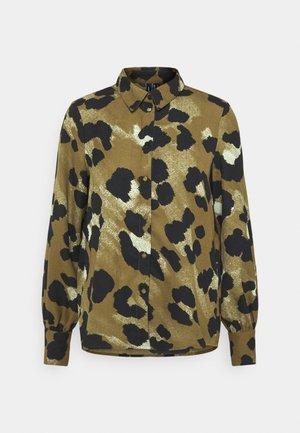 VMGREETA - Button-down blouse - beech/greeta
