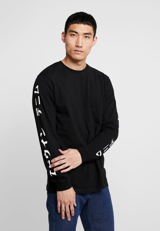 GANG - Bluzka z długim rękawem - black