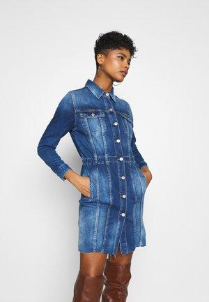 MEG - Denim dress - blue