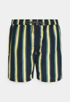 JJIBALI JJSWIMSHORTS STRIPE - Swimming shorts - navy blazer