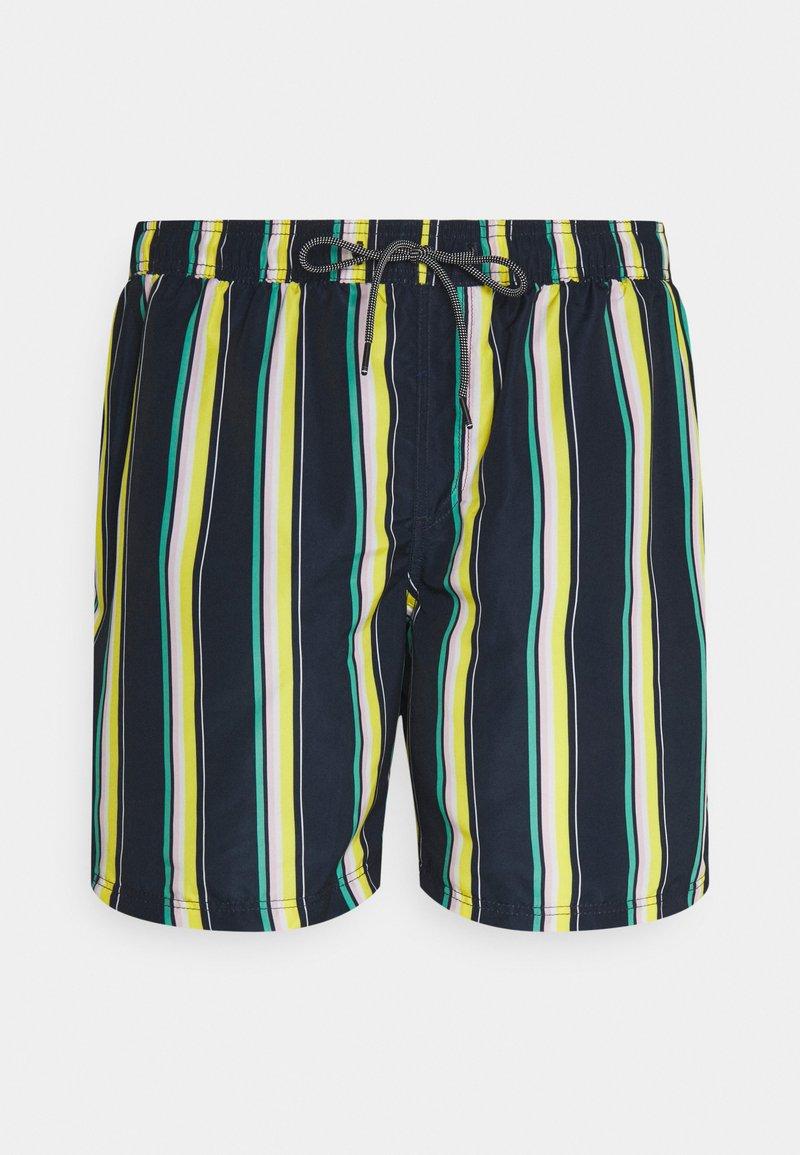 Jack & Jones - JJIBALI JJSWIMSHORTS STRIPE - Swimming shorts - navy blazer