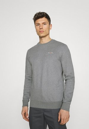 CREW NECK LONG SLEEVE - Sweatshirt - grey melange
