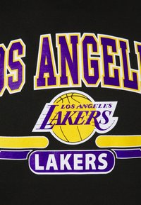 Mitchell & Ness - NBA LA LAKERS ARCH LOGO HOODY - Squadra - black - 6