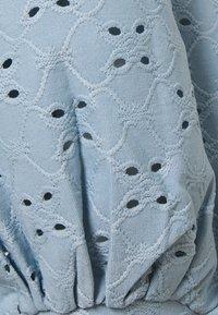 Vila - VITRESSY DETAIL ONECK - Topper langermet - ashley blue - 2