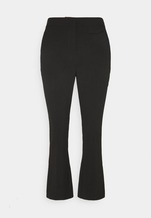 BYELISA KICK FLARE PANTS - Trousers - black