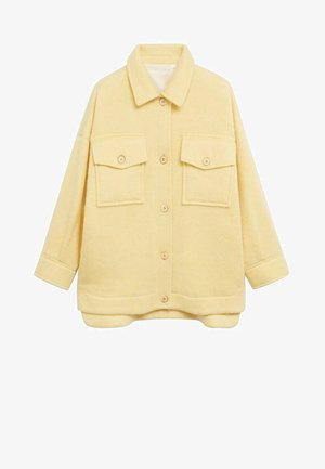COUNTRY - Light jacket - pastel yellow